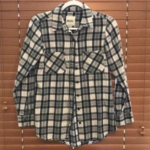 Plaid flannel shirt